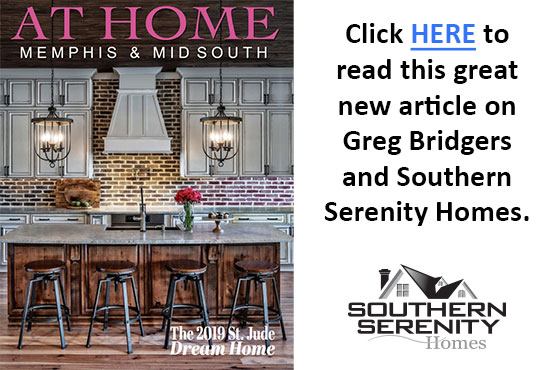 At Home Magazine with Greg Bridgers